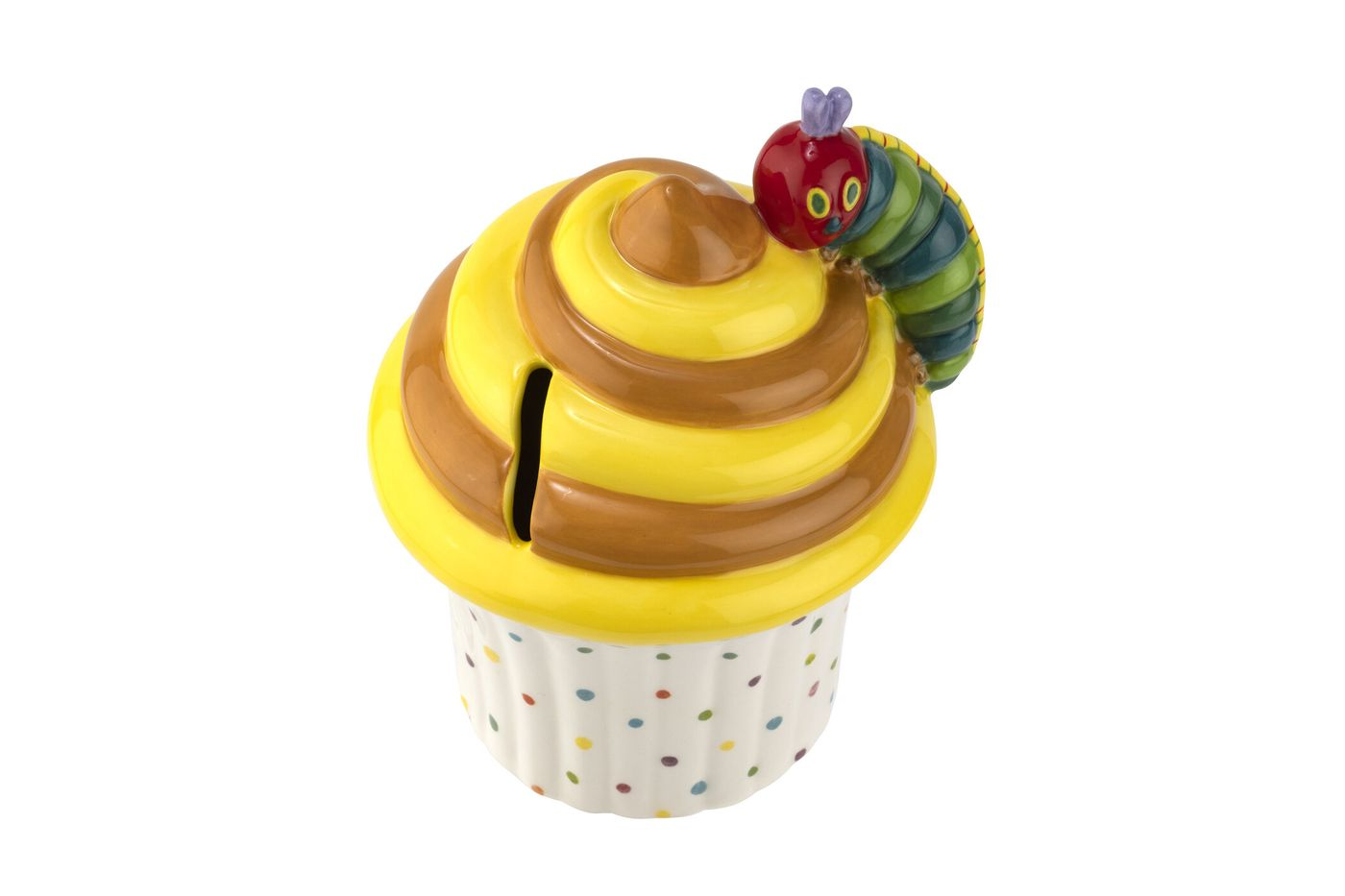 Portmeirion The Very Hungry Caterpillar by Eric Carle Money Box Cupcake thumb 2