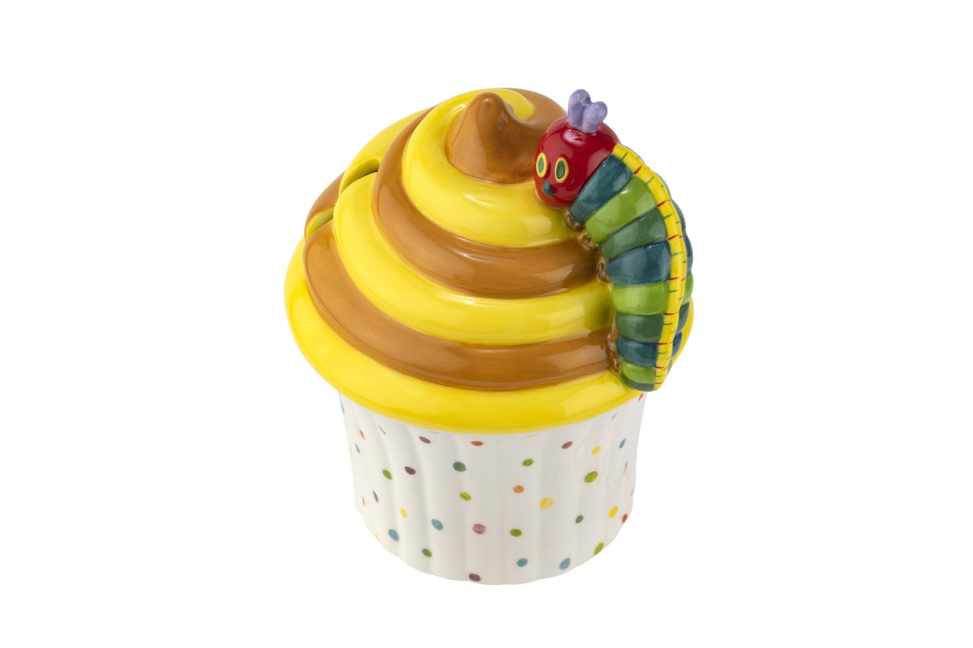 Portmeirion The Very Hungry Caterpillar by Eric Carle Money Box Cupcake thumb 4