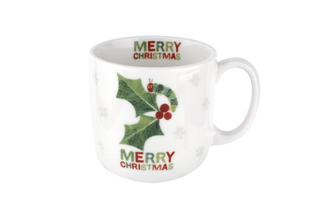 Portmeirion The Very Hungry Caterpillar by Eric Carle Mug Merry Christmas 0.22l