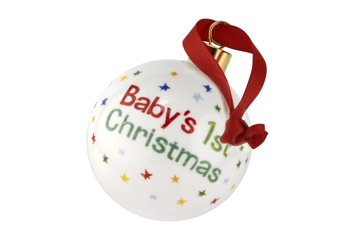 Portmeirion The Very Hungry Caterpillar by Eric Carle Bauble Baby 1st Xmas thumb 2