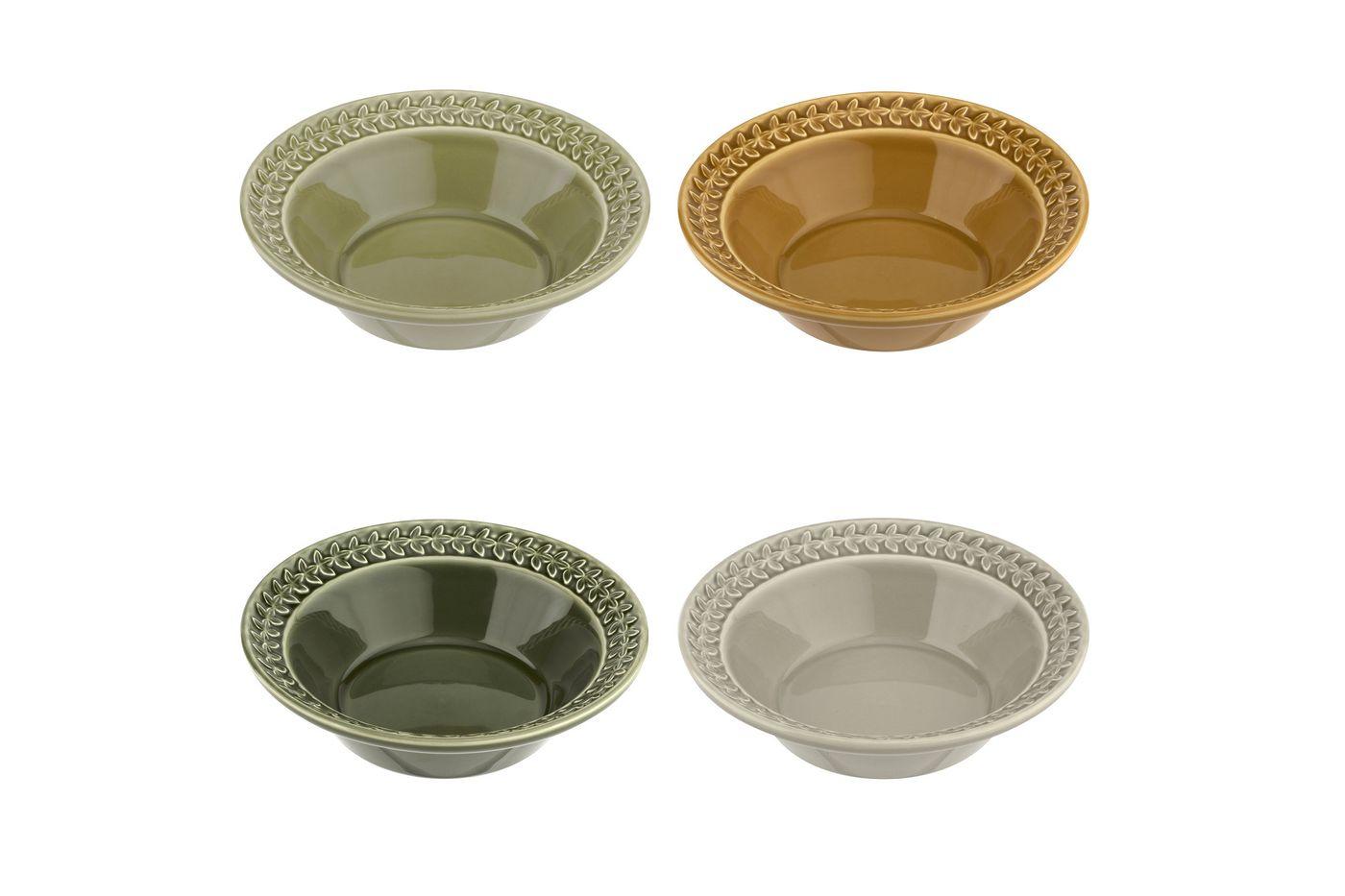Portmeirion Botanic Garden Harmony Cereal Bowl - Set of 4 20cm thumb 1