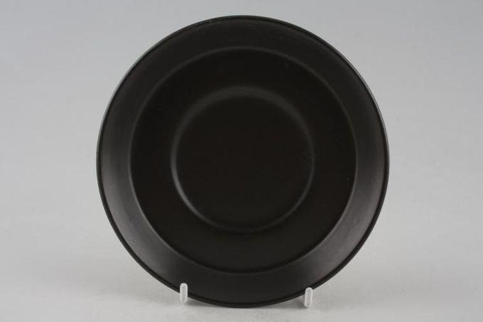 "Portmeirion Greek Key - White + Black Coffee Saucer 5 1/4"""