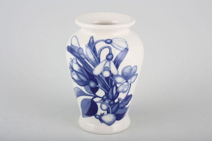 """Portmeirion Harvest Blue Vase 1 3/4 x 3 5/8"""""""