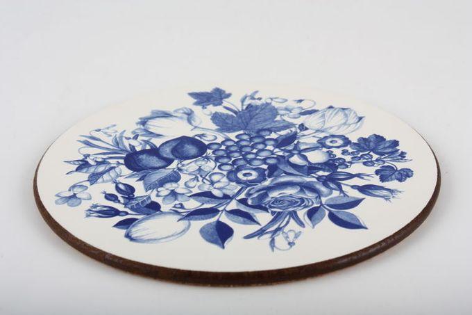 "Portmeirion Harvest Blue Coaster Pack of 6 3 7/8"""