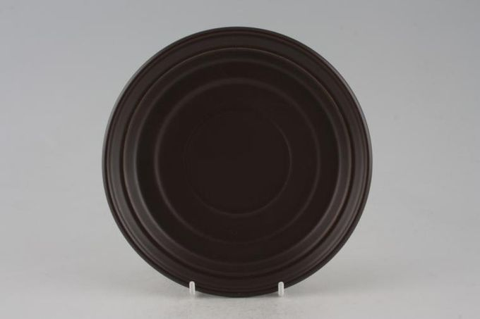 """Portmeirion Meridian - Brown Soup Cup Saucer Can be used as gravy jug stand 7"""""""