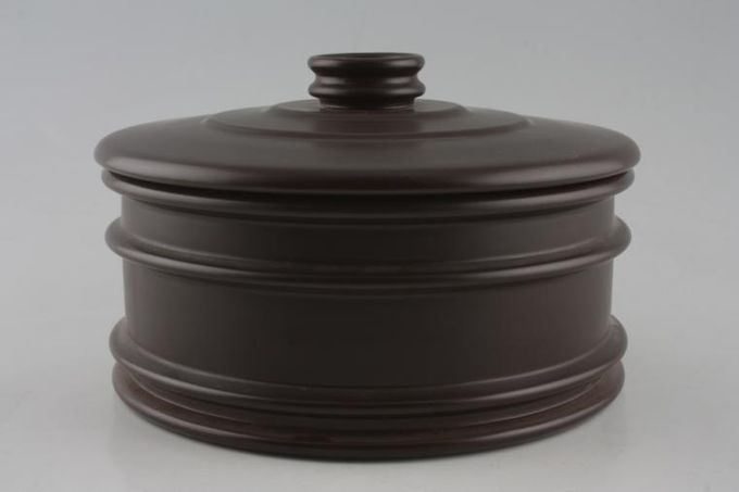 Portmeirion Meridian - Brown Casserole Dish + Lid Can be used as veg tureen 2 1/2pt