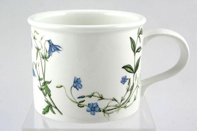 """Portmeirion Queens Hidden Garden Breakfast Cup clover/ Buttercup 3 3/4 x 3"""""""