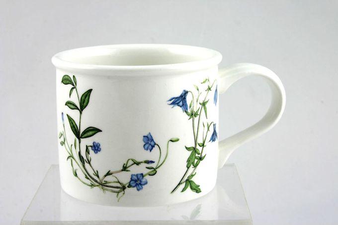 "Portmeirion Queens Hidden Garden Teacup Drum Shape 3 1/4 x 2 1/2"""