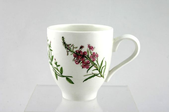 Portmeirion Queens Hidden Garden Coffee Cup Rosebay Willow Herb 2 3/8 x 2 3/4""