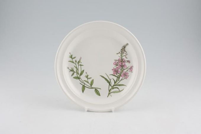 Portmeirion Queens Hidden Garden Tea / Side / Bread & Butter Plate Rosebay Willow Herb 7 1/4""