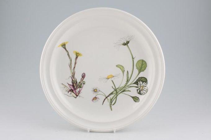 """Portmeirion Queens Hidden Garden Dinner Plate Daisy and Calendula 10 3/8"""""""