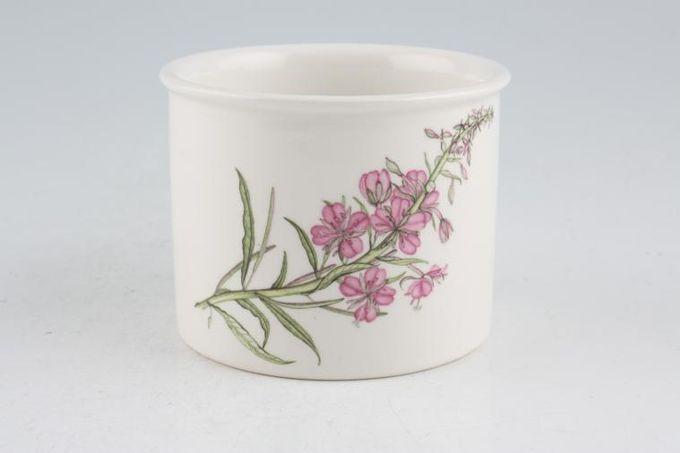 """Portmeirion Queens Hidden Garden Sugar Bowl - Open (Tea) Rosebay Willow Herb 3 3/8"""""""