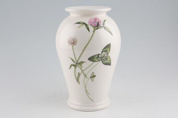 """Portmeirion Queens Hidden Garden Vase Clover 3 5/8 x 8 1/4"""""""