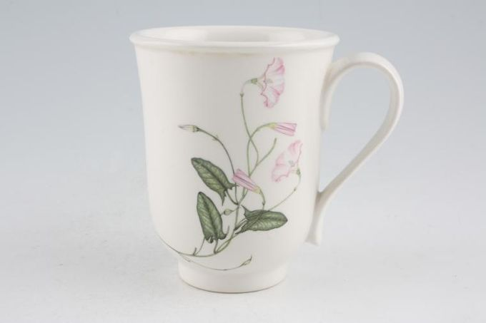 """Portmeirion Queens Hidden Garden Mug Clover/Pink Mallow 3 1/4 x 4 1/8"""""""