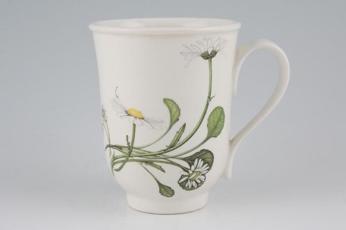 Portmeirion Queens Hidden Garden Mug Daisy and Calendula 3 1/4 x 4 1/8""