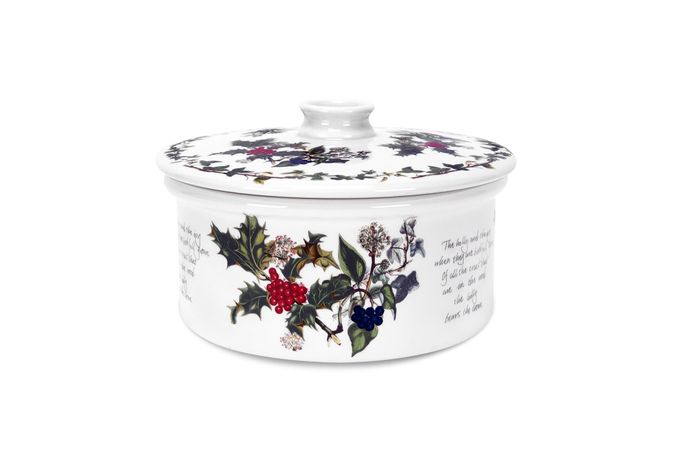 Portmeirion The Holly and The Ivy Casserole Dish + Lid 3pt