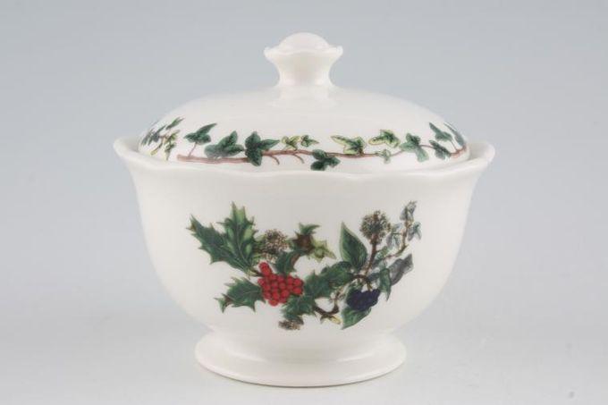 Portmeirion The Holly and The Ivy Sugar Bowl - Lidded (Tea)