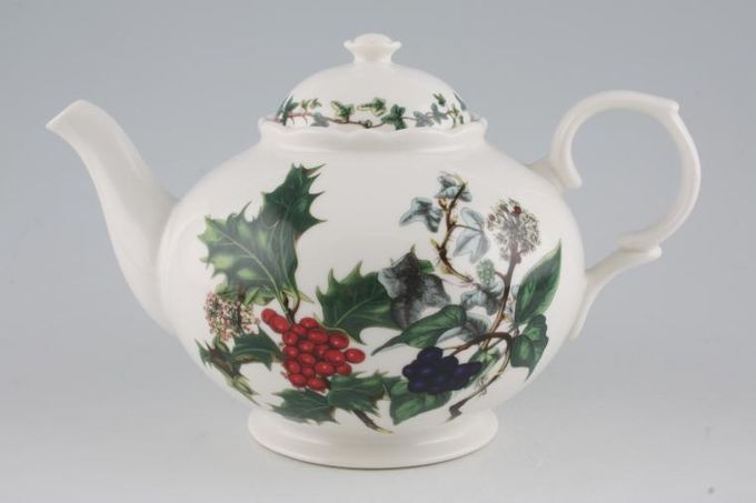 Portmeirion The Holly and The Ivy Teapot 1 1/2pt