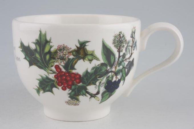 """Portmeirion The Holly and The Ivy Teacup 3 5/8 x 2 5/8"""""""