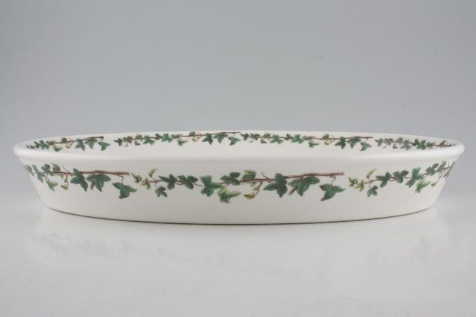 """Portmeirion The Holly and The Ivy Roaster Oval 15 1/2"""""""