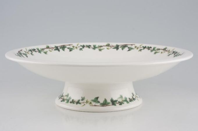 """Portmeirion The Holly and The Ivy Fruit Bowl Footed 11 3/4"""""""