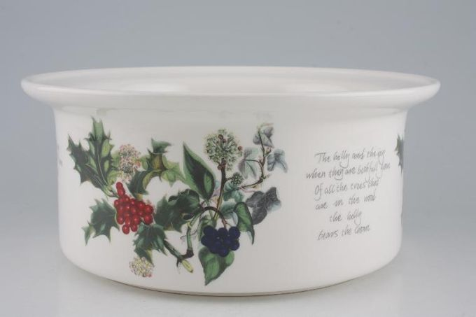 Portmeirion The Holly and The Ivy Casserole Dish Base Only 3pt