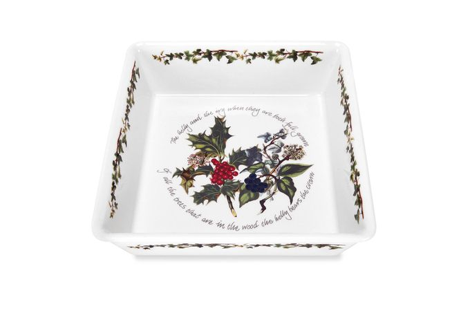 Portmeirion The Holly and The Ivy Serving Dish Square