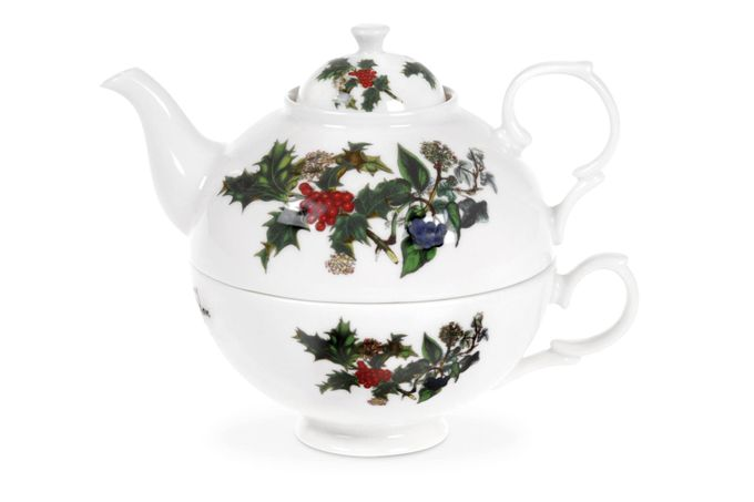 Portmeirion The Holly and The Ivy Tea For One