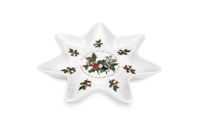 Portmeirion The Holly and The Ivy Dish (Giftware) Star Dish