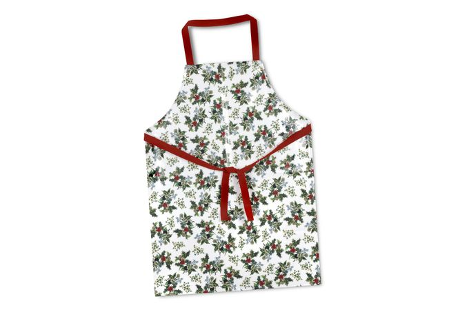 Portmeirion The Holly and The Ivy Apron Coated Apron