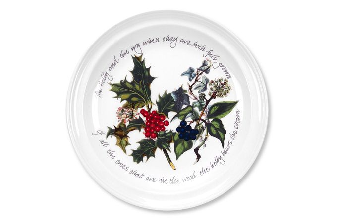 """Portmeirion The Holly and The Ivy Starter / Salad / Dessert Plate 8 1/2"""""""