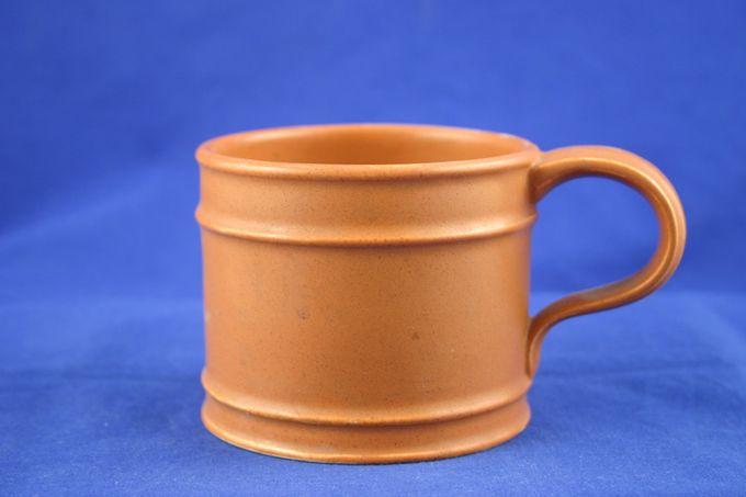 """Portmeirion Meridian - Terracotta Teacup 3 1/2 x 3"""""""