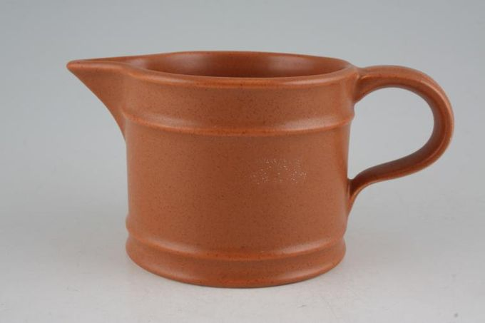 Portmeirion Meridian - Terracotta Milk Jug 1/2pt
