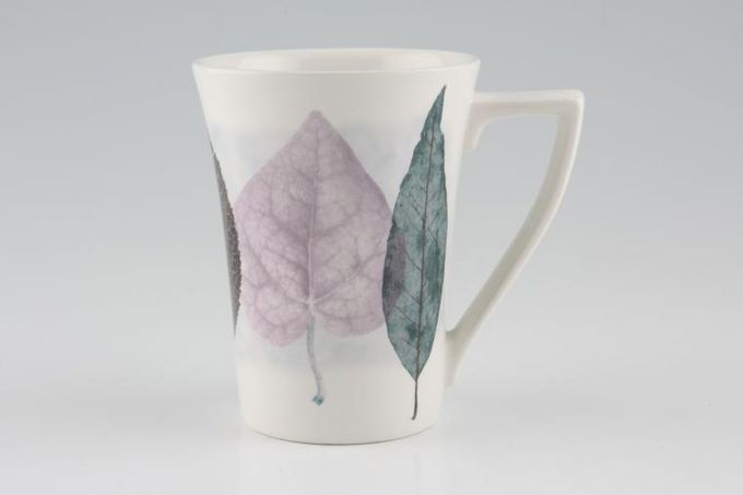 Portmeirion Dusk Mug Large Leaves - shades may vary slightly 3 1/2 x 4 1/2""