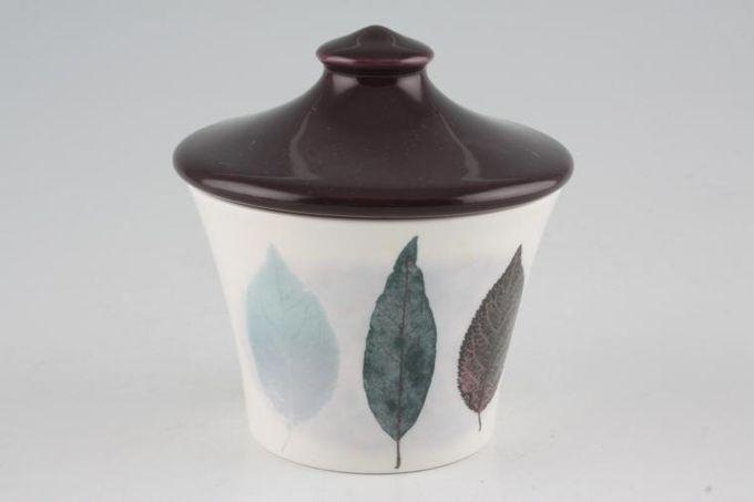 Portmeirion Dusk Sugar Bowl - Lidded (Tea) Pattern 1, Dark lid