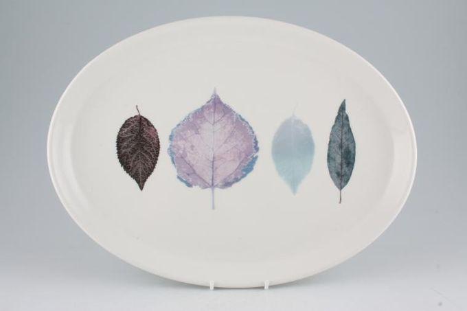 """Portmeirion Dusk Oval Plate / Platter 14 3/4"""""""