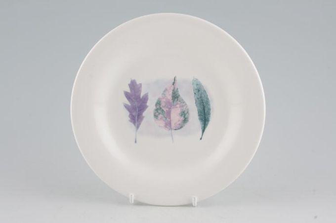"""Portmeirion Dusk Tea / Side / Bread & Butter Plate 3 Leaves in Centre 6 7/8"""""""