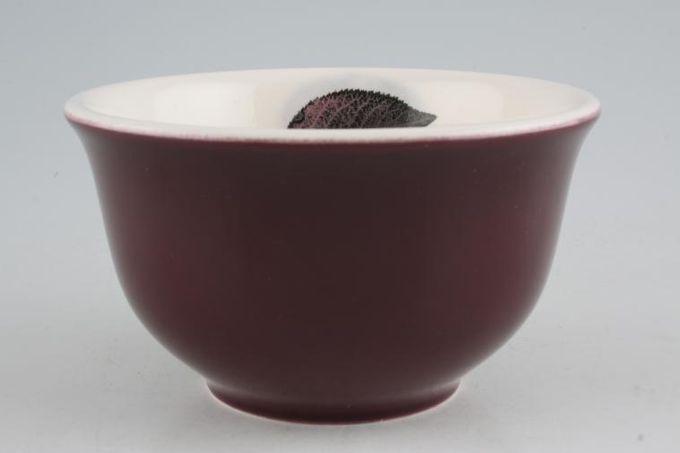 """Portmeirion Dusk Rice / Noodle Bowl Dark Leaf Inside 5 3/8 x 3"""""""
