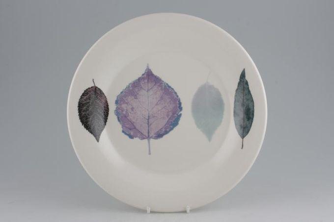 """Portmeirion Dusk Dinner Plate Plain white rim 10 3/4"""""""