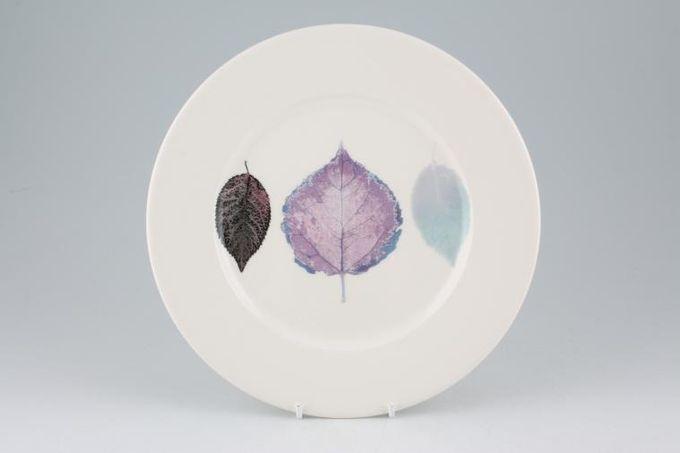 """Portmeirion Dusk Breakfast / Salad / Luncheon Plate 3 leaves - Flat,White Rim 9 1/4"""""""
