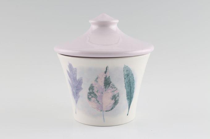 Portmeirion Dusk Sugar Bowl - Lidded (Tea) Pattern 2, Lillac lid