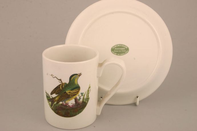 Portmeirion Birds of Britain - Backstamp 2 - Green and Orange