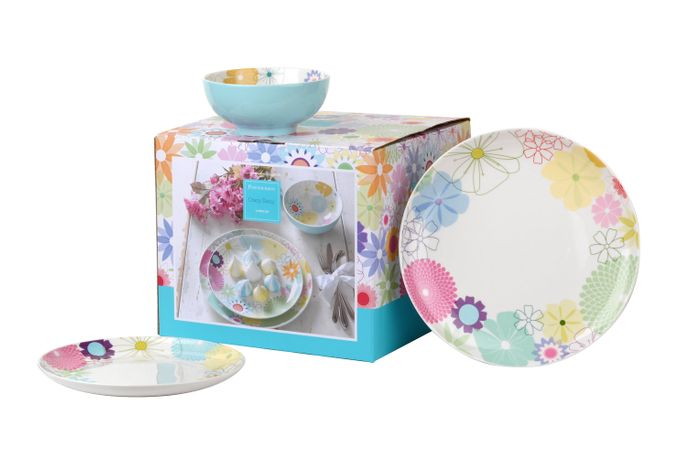 Portmeirion Crazy Daisy 12 Piece Set
