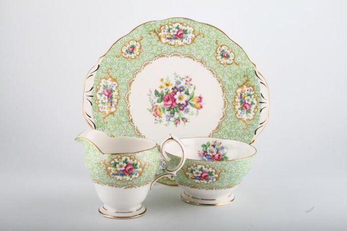 Queen Anne Gainsborough - Green