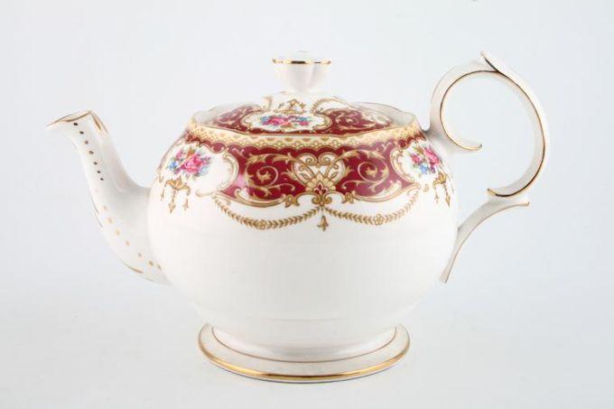Queen Anne Regency Teapot 2pt