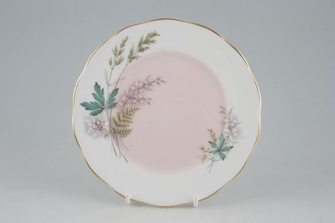 Queen Anne Louise - Pink - Gold Edge
