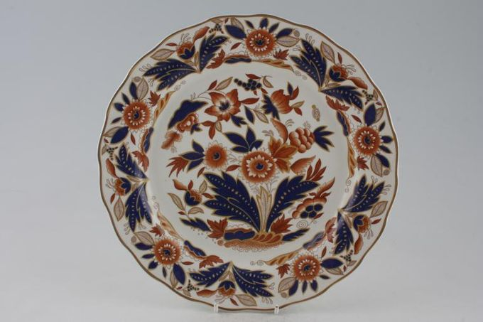 Booths Dovedale - Gold Edge Dinner Plate 10 1/4""