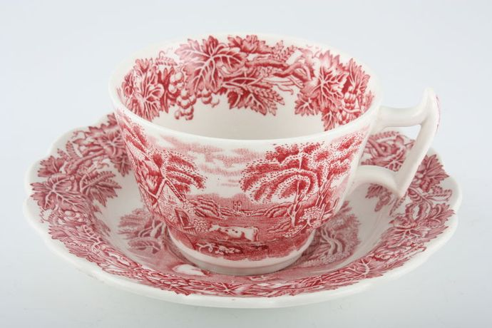 Booths British Scenery - Pink