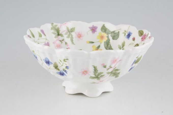 """Queens Country Meadow Bowl (Giftware) Footed 6 3/4"""""""