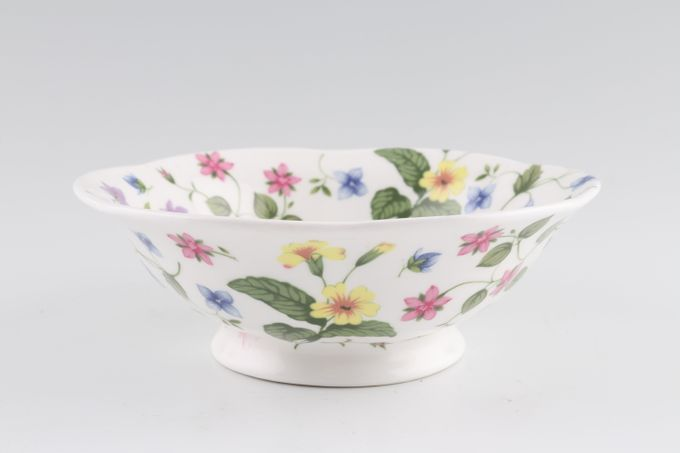"""Queens Country Meadow Bowl (Giftware) Footed Bowl 6"""""""